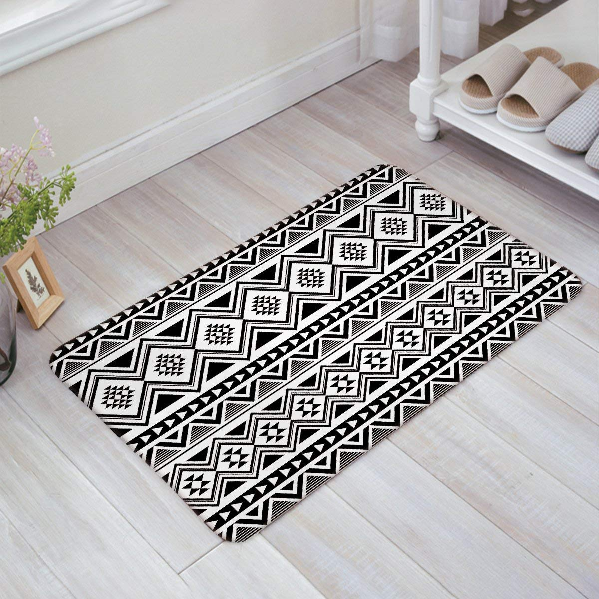 Kitchen Bathroom Soft Durable Accent Rug Small Carpet