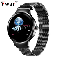2019 Women's Smart Bracelet Waterproof Heart Rate Monitor Watch Activity Fitness Tracker xiomi Smartband for Woman ladies Girl