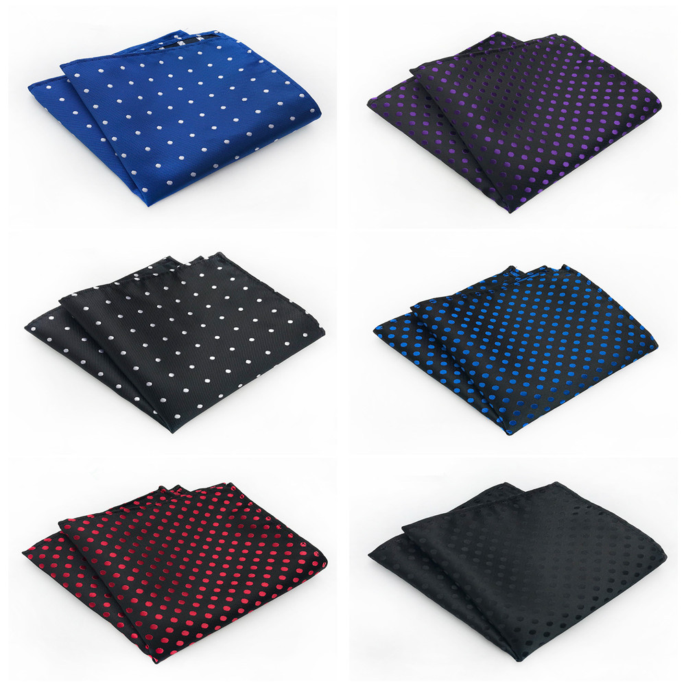 High Quality Polyester Material Fashion Pocket Towel Boutique Men's Simple Personality Business Accessories Handkerchief