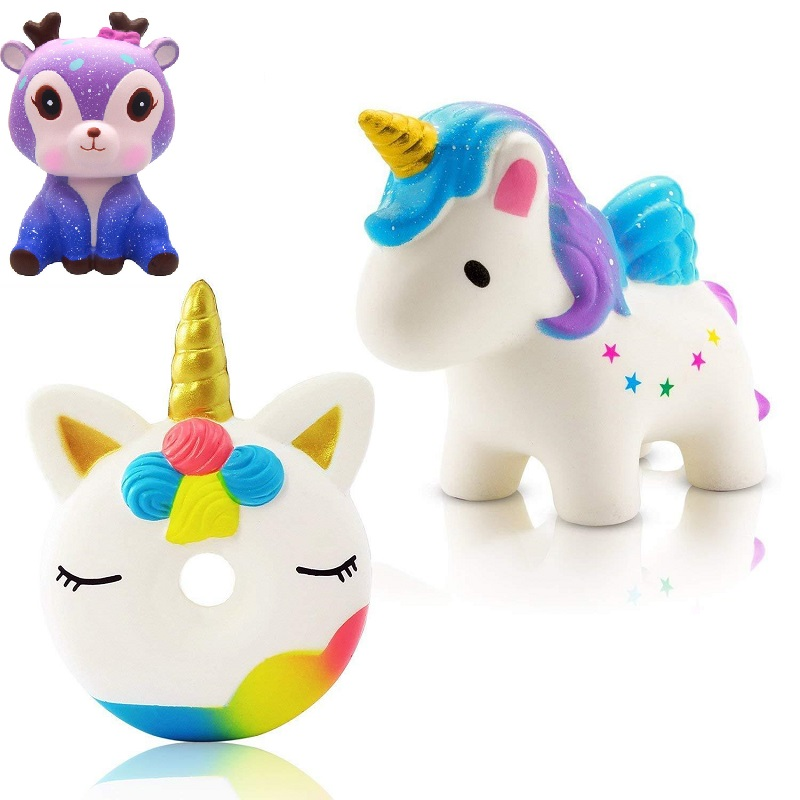 New unicorn wholesale squishies slow rising jumbo kid toys animal squishy slow rising phone - Jumbo mobel discount ...