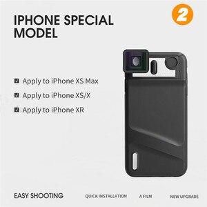 Image 5 - Upgrade Versie 1.33X Vervorming Mobiele Telefoon Lens Universele Clip Breedbeeld Film Groothoek Camera Lens voor iPhone Samsung
