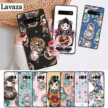 Lavaza Russian matryoshka Dolls Silicone Case for Samsung S6 Edge S7 S8 Plus S9 S10 S10e Note 8 9 10 M10 M20 M30 M40