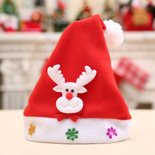 Nueva lindo Navidad CAPS Snowman ELK sombrero para niños Año Nuevo navidad  niños regalo inicio Decoración b74a0203a2f