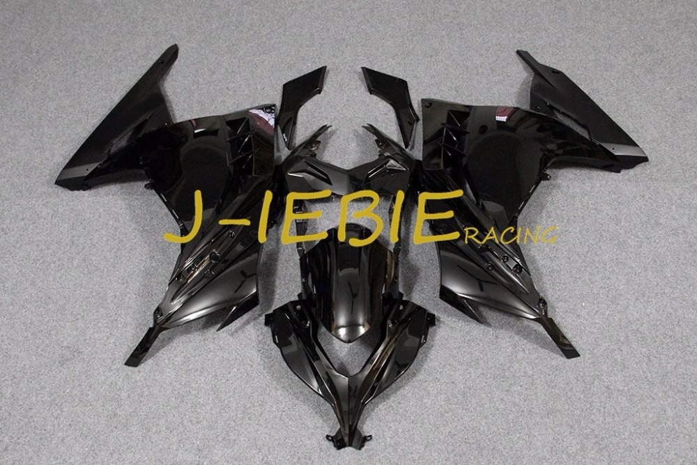 Black Injection Fairing Body Work Frame Kit for Kawasaki NINJA 300R EX300 EX 300 R 2013 2014 2015 2016