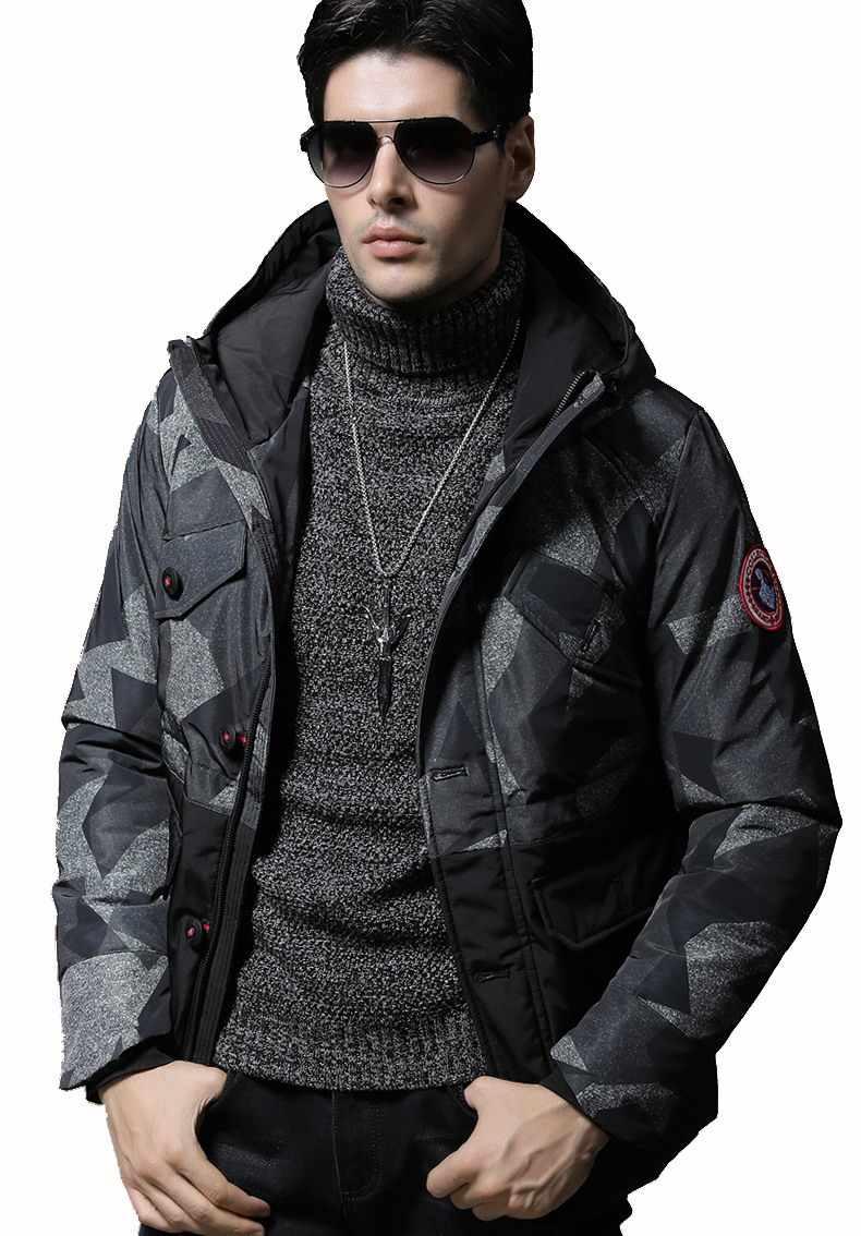 Parka para Hombre Chaquetas de invierno de algodón Chaquetas para Hombre Camo abrigo Casual para Hombre camuflaje Chaquetas y abrigos para Hombre al por mayor 359