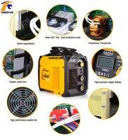 МиГ сварочный аппарат инвертор сварные электроды сварки IGBT DC инверторная Сварка ing оборудования ММА сварщиков ZX7 200 (ARC200) сварщик