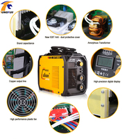 Mig welding machine inverter weld Electrodes welding IGBT DC Inverter welding equipment MMA welders ZX7 200(ARC200) welder