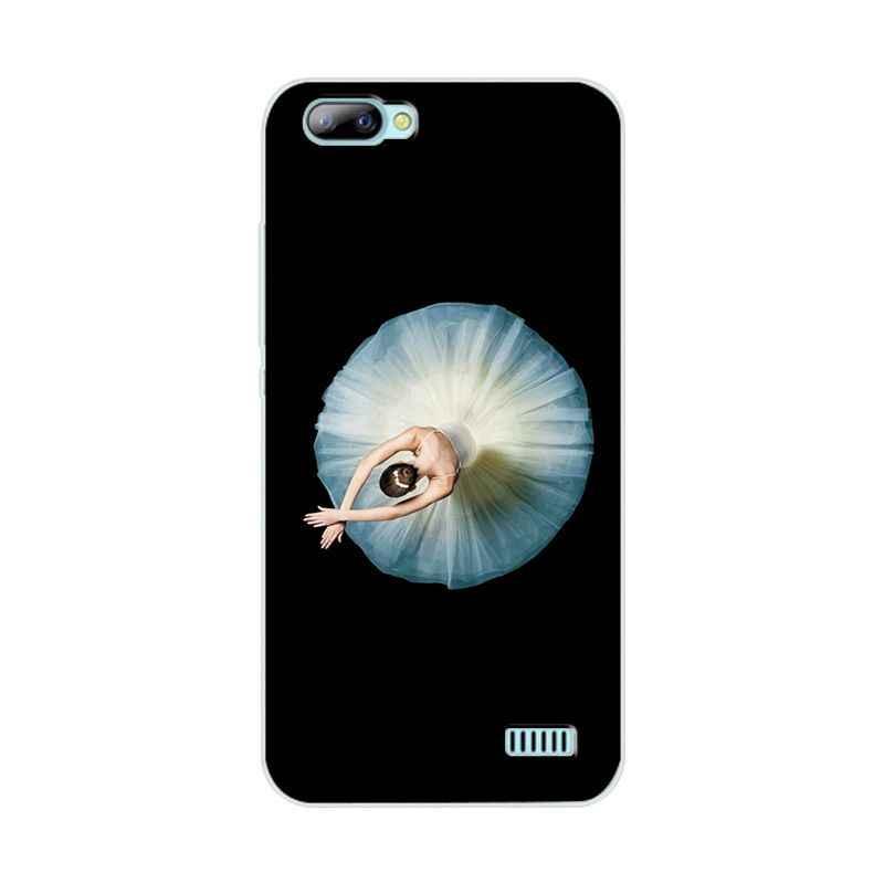 กระเป๋าโทรศัพท์สำหรับ Blackview A7 การ์ตูนสไตล์ซิลิโคนสำหรับ Blackview A7 Brilliant กลับสำหรับ Blackview A7 Coque