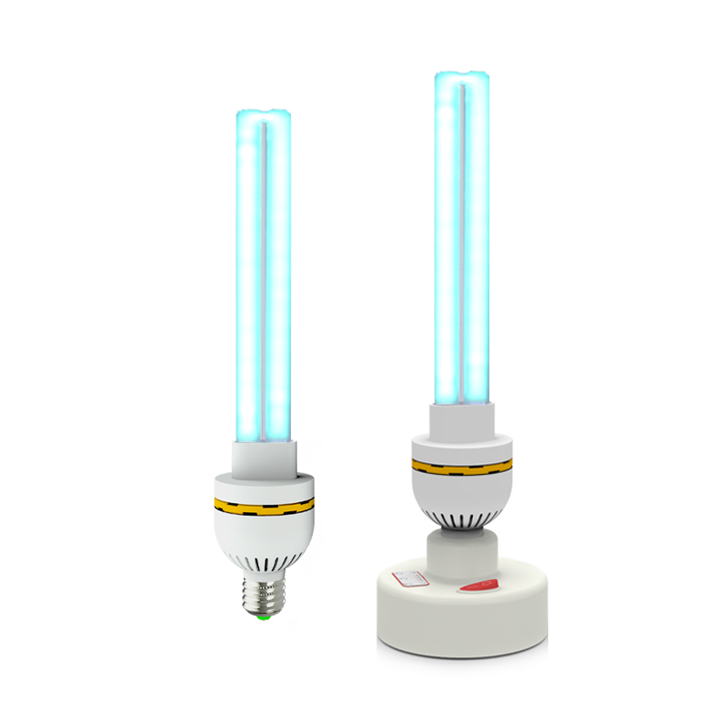 UVC Ultraviolet Germicidal quartz Lamp Household kill mite Sterilization UV Disinfection Lights 30W High power Ozone Sterilizer