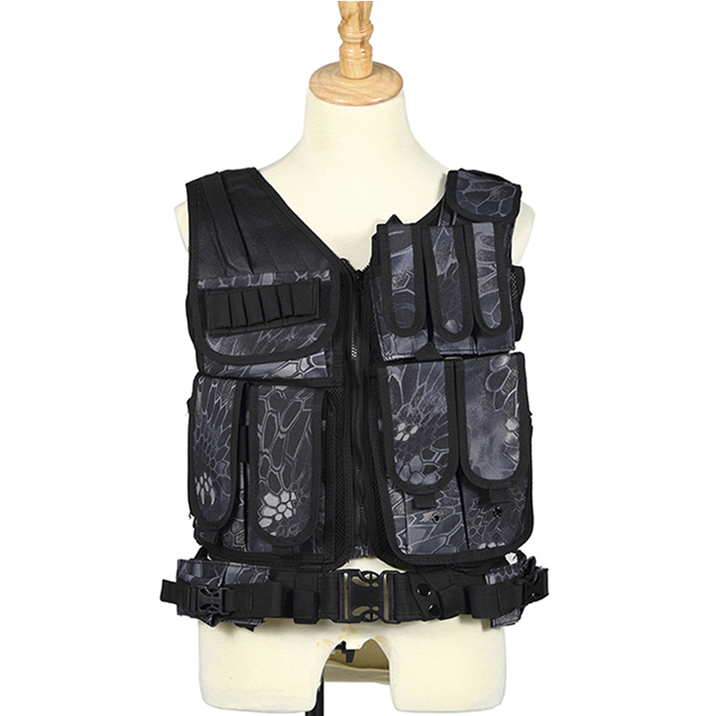 Фотография VT-010 Airsoft Army Hunting Vest Men Waterproof Tactical Vest Durable Combat CS Field Game Training Molle Carrier Waistcoat