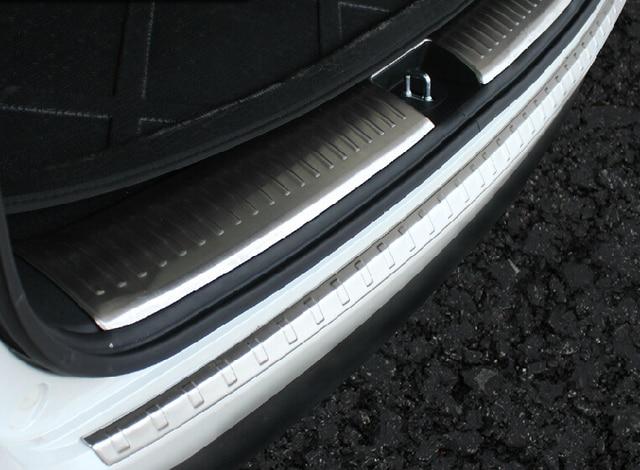 Auto rear bumper protector trim for KIA Sorento 2015 ,stainless steel,2pcs/lot, auto accessories