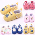 Baby Boys Girls Shoes Cartoon Newborn Crib Shoes Infant Toddler Slipper Unisex Casual Prewalker Princess First Walker Footwear
