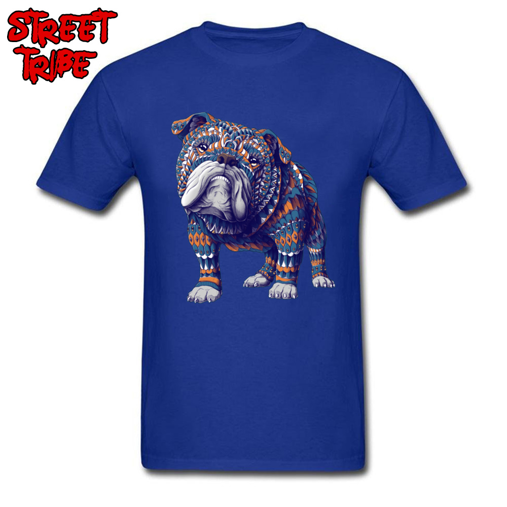 Cotton Men T-Shirt English Bulldog Color <font><b>Tshirt</b></font> Fit Mens Tees Pitbull Dog Print Tops Mexico Artist Designer T Shirt Terrier <font><b>Cult</b></font> image