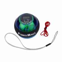 New Multifunctional LED Wrist Power Force Grip Ball Arm Muscle Exercise Speed Meter Counter Function 2 Colors Dropshipping