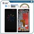 Для Huawei P7 ЖК-Дисплей + Сенсорный Экран в исходном Дигитайзер Ассамблеи Для Huawei Ascend P7 5.0 ''Phone (в наличии) вы можете оплатить