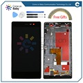 For Huawei P7 LCD Display +Touch Screen original Digitizer Assembly For Huawei Ascend P7 5.0'' Phone(in stock) You can pay