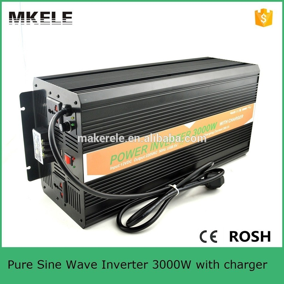цена на MKP3000-122B-C high efficiency off grid pure sine wave inverter 3000w 12v 220v pure sine wave inverter with charger