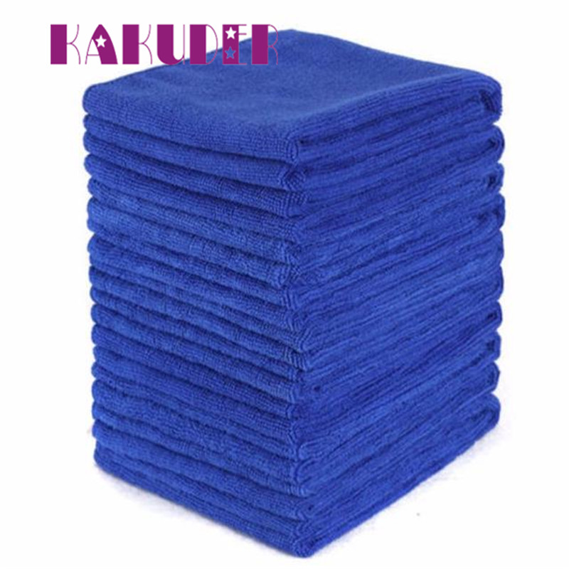 new Car Wash Clean Sponge Brush Glass Cleaner Blue Wave Car Wash Triangle Pano de limpeza quality cleaning new 17may31