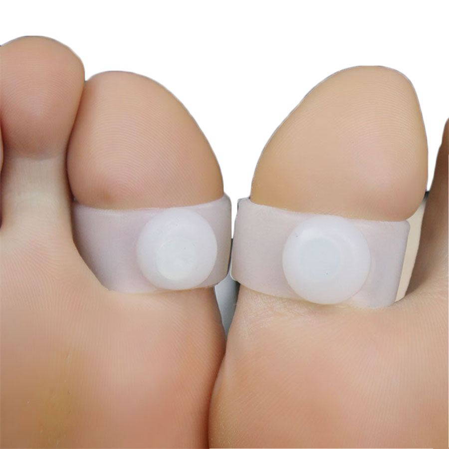 6Pcs 3Pairs Silicon Fat Burner Foot Care Foot Massage Magnet Lose font b Weight b font