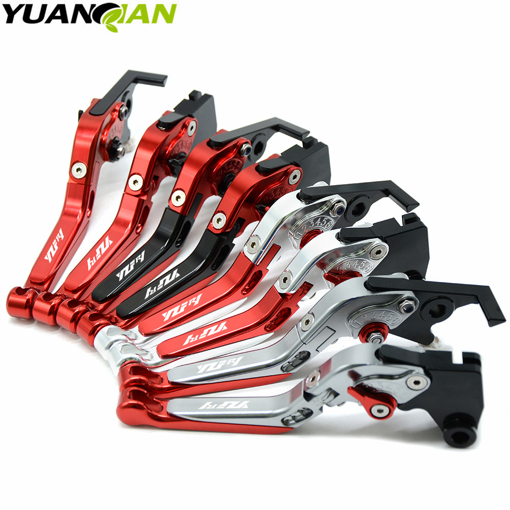 For Yamaha YZF R1 2004 2005 2006 2007 2008 CNC aluminum Adjustable Racing Clutch Brake Lever