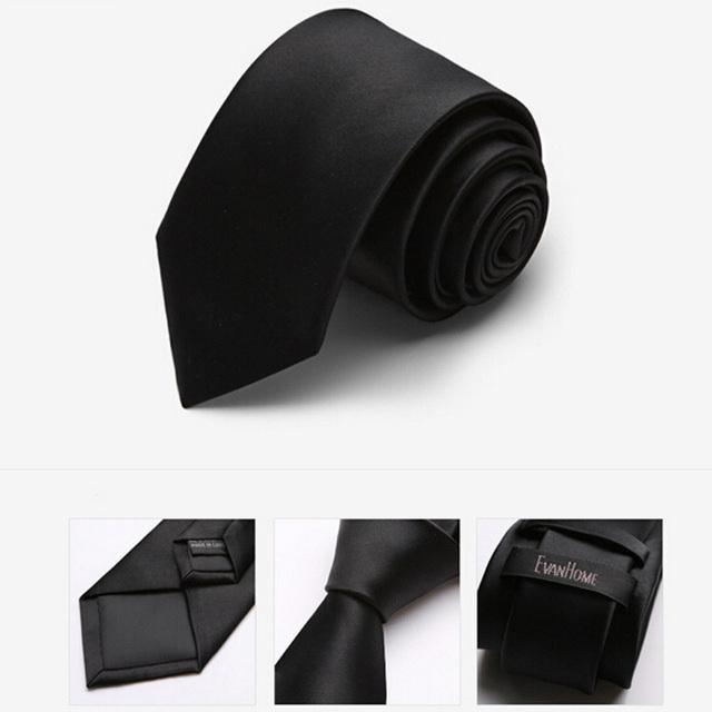 Alta Calidad 2016 Nuevo Corbatas de Los Hombres Corbata De Seda de Imitación Moda Lazos para Los Hombres de negocios 7 CM Delgado Gravata Corbatas Con Caja de Regalo