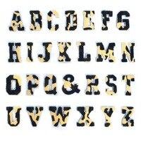 26 stücke Alphabet Patches A bis Z Bestickt Nähen Patch für Jacken Hut Jeans Tasche YU Home-in Dekorative Buchstaben & Zahlen aus Heim und Garten bei