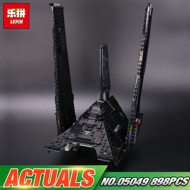 New In stock Lepin 05049 Star Series War The Fighting Star Shuttle Set Building Blocks Bricks Toys Compatible with 75156 Kid Toy lepin 05057 977pcs star series war new the legoing the fighting shuttle set model building kit blocks bricks toy gift with 75094