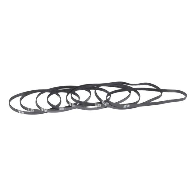 US $7 99 |HTD 2GT Timing Belt Closed Loop Timing Belt Rubber Length 284 288  294 300 302 308 320 336 340 348 mm Width 6mm 9mm Pitch-in Transmission