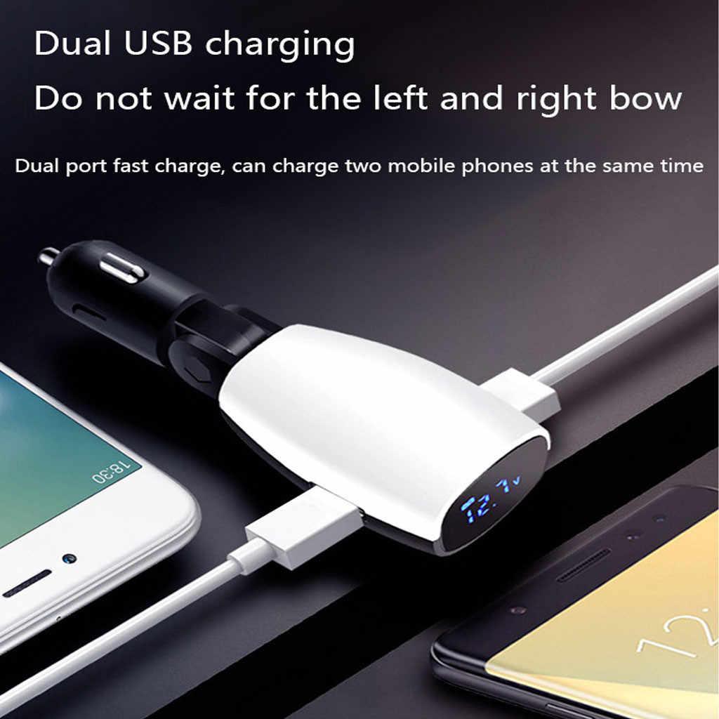 CARPRIE 2019 nuevo cargador de coche fuerte puerto Dual USB coche de carga rápida para teléfono móvil para la mayoría de dispositivos inteligentes 16 W 1A/2.1A 9043039