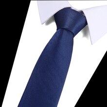Blue Tie For Men Slim Narrow 7.5cm Casual Arrow Skinny Red Necktie Fashion Man Accessories Simplicity Party Formal Ties