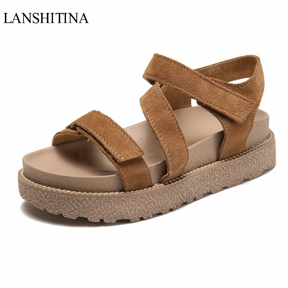 2017 New Arrival Women's Gladiator Sandals With Wedges Fashion Summer Casual Comfortable Female Elastic Band Platform Shoes phyanic 2017 gladiator sandals gold silver shoes woman summer platform wedges glitters creepers casual women shoes phy3323