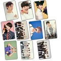 Kpop BTS Bangtan Boys 2016 new Album Wacky banquet crystal sticker set 10 k-pop bts Photos Cards Postcard Poster LOMO PhotoCard