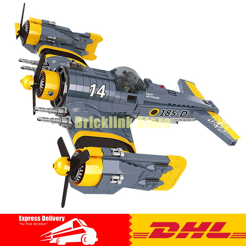 Lepin 22021 Technical Series The Beautiful Science Fiction Fighting Aircraft Set Building Blocks Bricks Funny Toys Model Gift the ec archives incredible science fiction