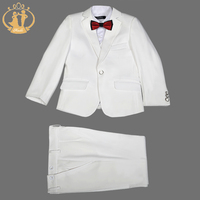 Nimble Suits for Boys Solid Boys Formal Suits Set Baby Boy Clothes Roupas Infantis Menino Boys Suits for Weddings Jogging Garcon