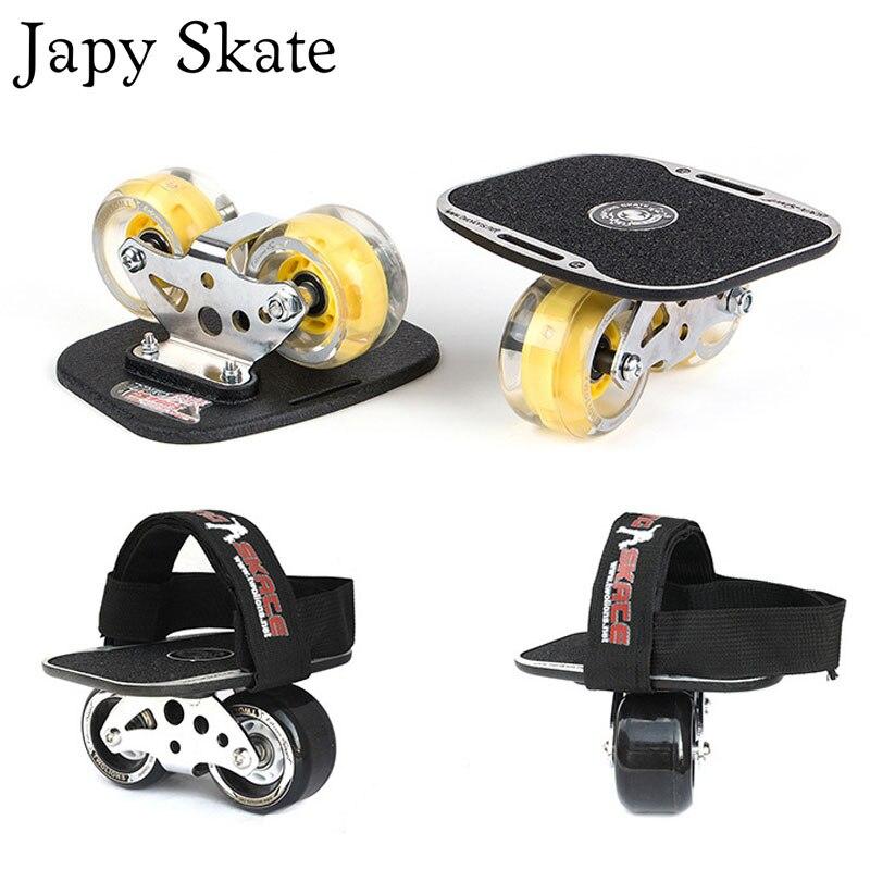 Patin Japy classique agressif dérive planche argent aluminium libre patins à roulettes gommage Patines antidérapant planche à roulettes 82A roues