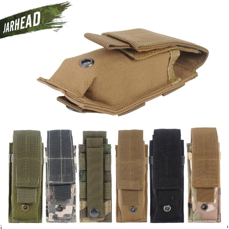 Outdoor Molle Light Portable Tactical Open Top Mag Magazine Cartridge Clip Pouch Mens Mi ...