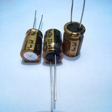 10 шт/20 шт Φ fg 25v220uf электролитические медные ножки аудио