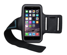 Sports Armbands Case for IPHONE 6 PLUS With Earphone Audio Hole PU Mobile Phone Bag