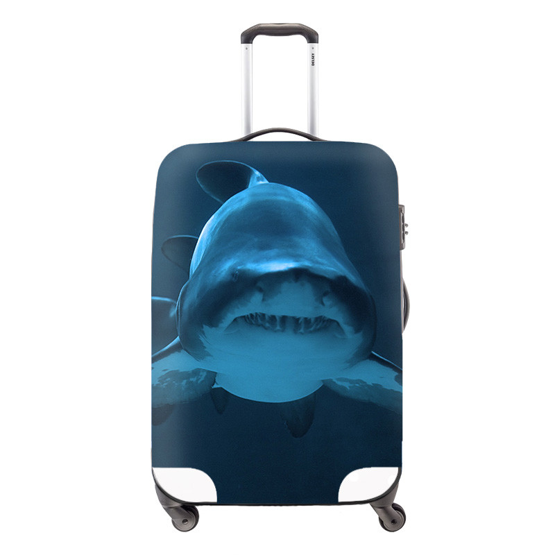 Suitcase New Design Animal Elastic Waterproof Cover Panda Luggage Protective Covers Men\'s Travel Bag Cover