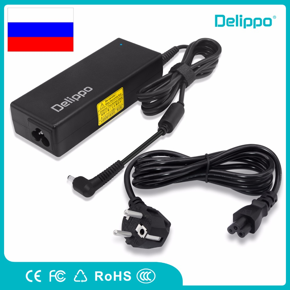 Delippo best power supply For Asus L3816 L1393 L3416 L4417 L4520 M50V M51V/T M70V M60J laptop charger 19V 4.74A 90W power supply