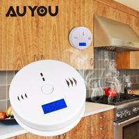 CO Gas Sensor Carbon Monoxide Poisoning Alarm Home LCD CO Carbon Monoxide Poisoning Sensor Alarm Warning
