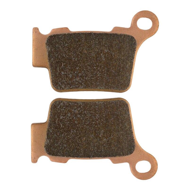 Motorcycle Parts Copper Based Sintered Brake Pads For KTM EXC 530 09-11 SXC 625 05-06 Rear Brake Disk #FA368 motorcycle parts copper based sintered motor front