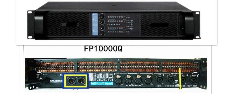 Chaude sono laboratoire gruppen FP 10000Q professionnel 4 canaux DJ amplificateur audio de puissance, FP140000Q commutation amplificateur de puissance