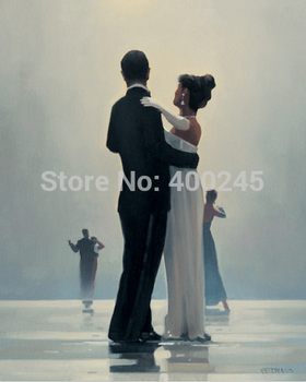 oil painting on Canvas Reproduction Art portrait painting Home decoration Dance Me to the End of Love 100%handmade High quality