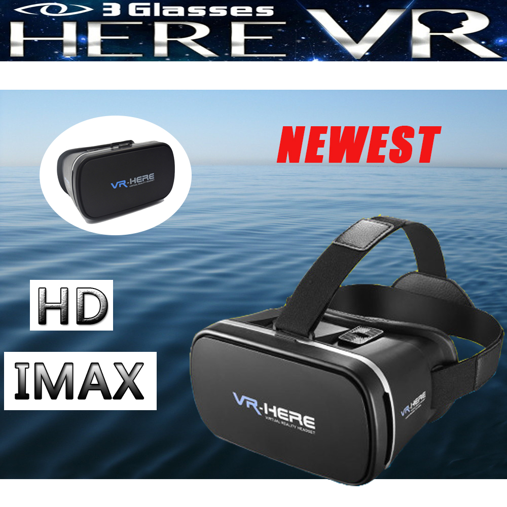 CALIENTE IMAX VR Saludable CAJA Blue Ray HD Gafas 3D + Bluetooth Gamepad Tormen