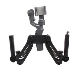 Dual Handle Grip Bracket Mount Holder Extension Stand Stabilizer For Ronin SC/S OSMO Mobile/Mobile 2 Photography Accessories