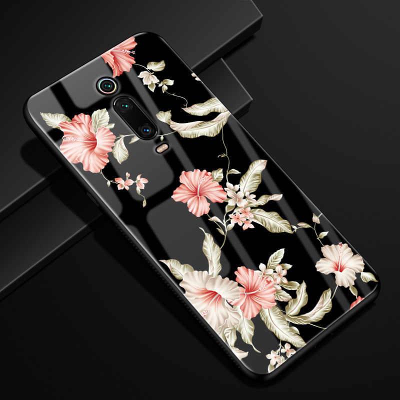 """Для Xiaomi mi 9 T Pro Чехол mi 9 T SE PC Пластиковый стеклянный чехол для телефона черный ТПУ бампер чехол для Xiaomi mi 9 T Pro mi 9 T Pro 6,39 """"Чехол"""