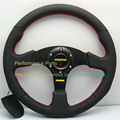 Free Shipping: 350mm MOMO Steering Wheel Universal Racing Steering Wheel Sport Car Steering Wheel