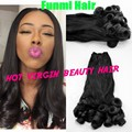 8A Unprocessed Peruvian Virgin Aunty Funmi Hair 100% Human Hair Weave Aunty Funmi Bouncy Curls Extensions Natural Hair