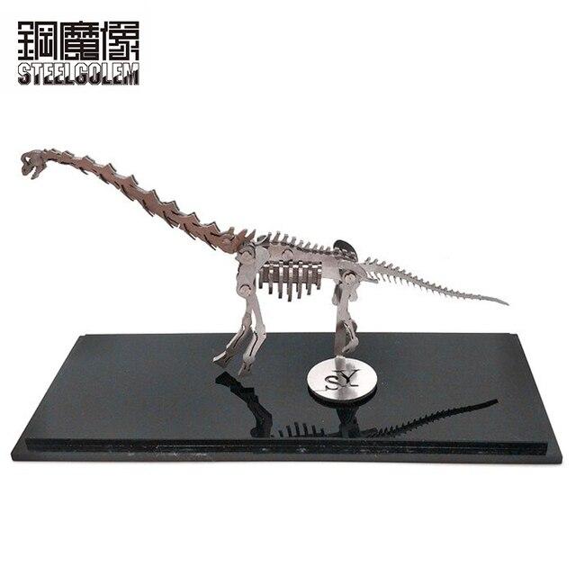 Alta qualidade 3D Metal Modelo Wan Dragão Produto Acabado Nenhum Conjunto Adulto Crianças Educação Brinquedos Coleção Mobiliário Doméstico de Desktop